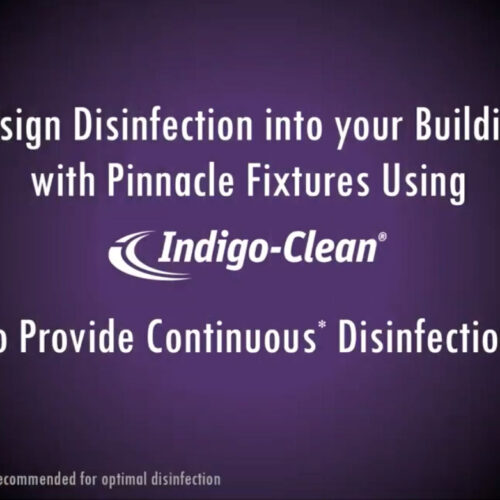 Indigo-Clean is integrated into Pinnacle Architectural Lighting Luminaires
