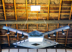 Architects Use Albeo LEDs to Transform a Historic Freight Depot Into an Event Center