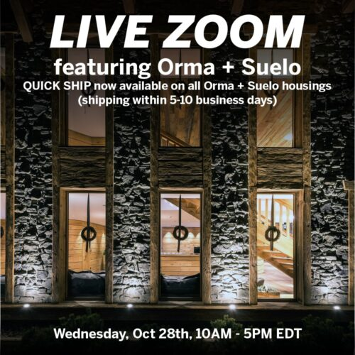 Inter-lux: Live zoom chat featuring Orma & Suelo products from Linea Light